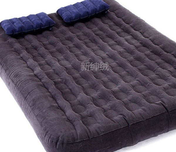PVC flock for inflatable air mattress